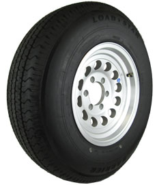 Aluminum Trailer Rims w/Tire