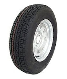 12 to 16 inch Radial Trailer Tire & Rim